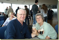 The parents enjoying Guinness in Dublin