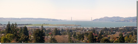Golden Gate Bridge from Berkeley