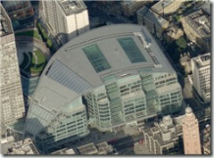 Microsoft's London offices at Cardinal Place
